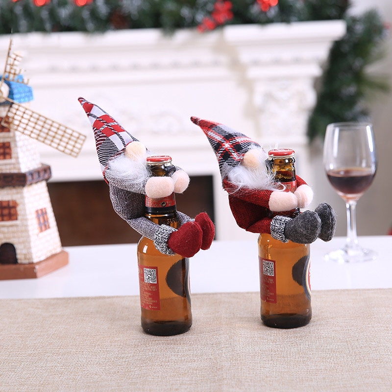 1 Set Mixed Christmas XMAS Wine Glass Marker Charms Ornaments Table Decoration G