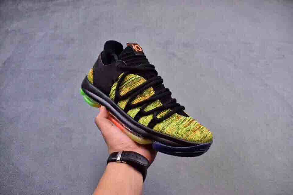 Kevin Durant X VII EP KD7 Basketball Shoes kd 10 X Elite Rainbow Oreo Black Gold Sneakers