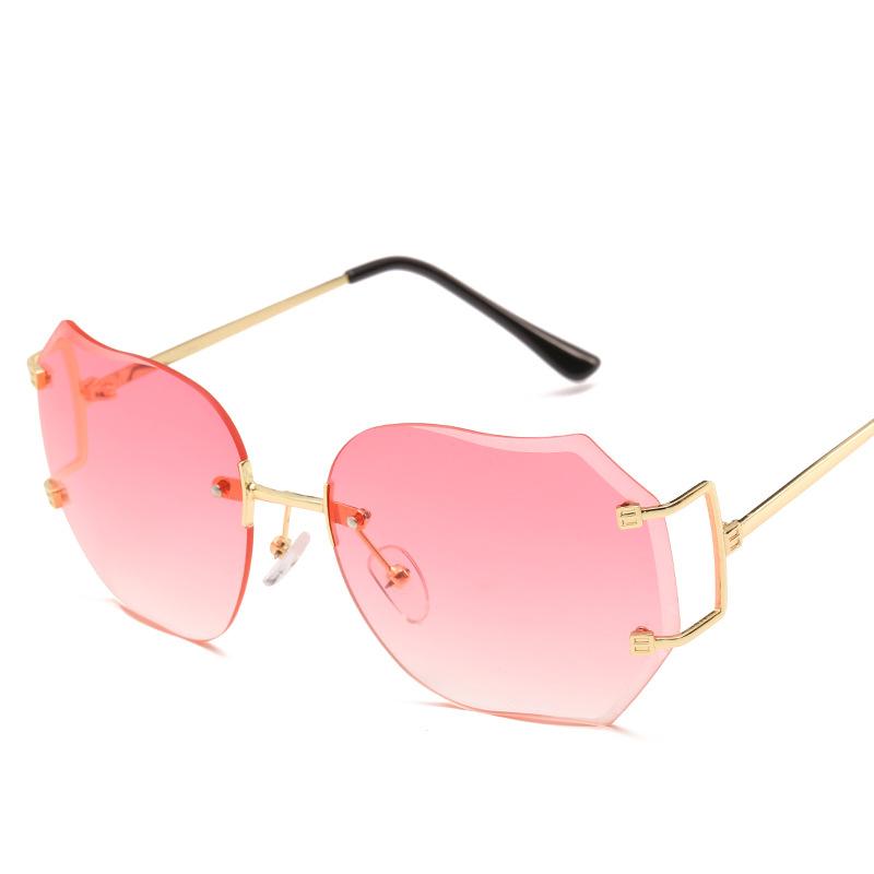 3555 Sport Sunglasses Round Red Box Sunglasses Driving Personality Sunglasses MU