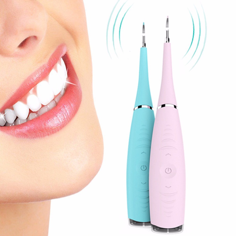 5 Levels Electric Sonic Dental Scaler Tooth Calculus Removal Teeth Teeth Whitening Stains Tartar Scraper Portable High Frequency