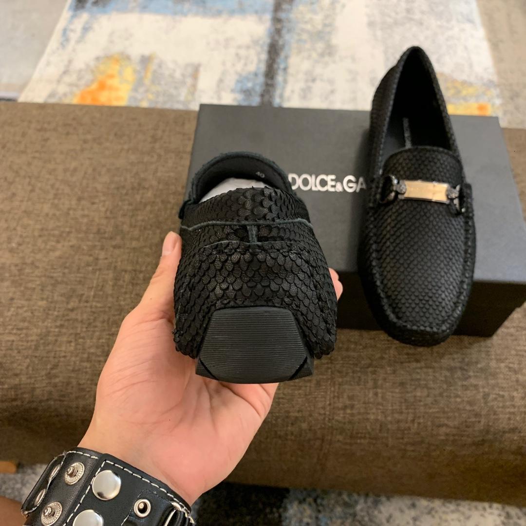 Top Deportivos Para Hombres Negro moda de cuero de los zapatos ocasionales tamaño al por mayor