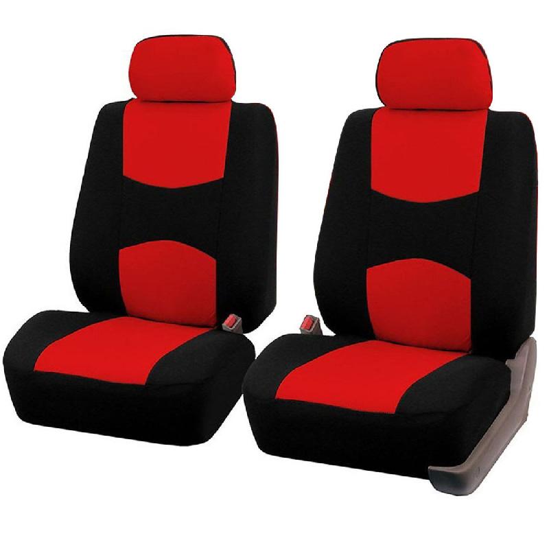 Housses de Protection Universel Auto-Housse de Siège Set Rouge NoirVoitures assises