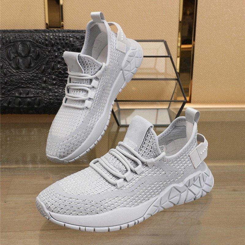 Summer Cool Women Athletic Sneakers Soft Net Mesh Breathable Zipper Dance Shoes