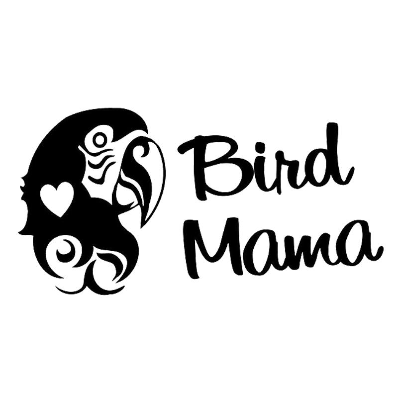 9.4*20CM Fashion FEATHER With Birds Vinyl Decals Car Window Sticker Black//Silver