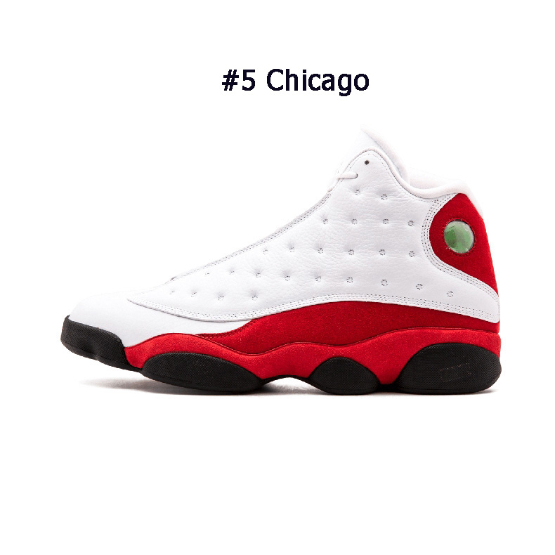 High Quality 13 13s basketball shoes DMP Lakers Rivals cap and gown Chicago Grey toe Designer Mens Sport Sneakers size 7-13