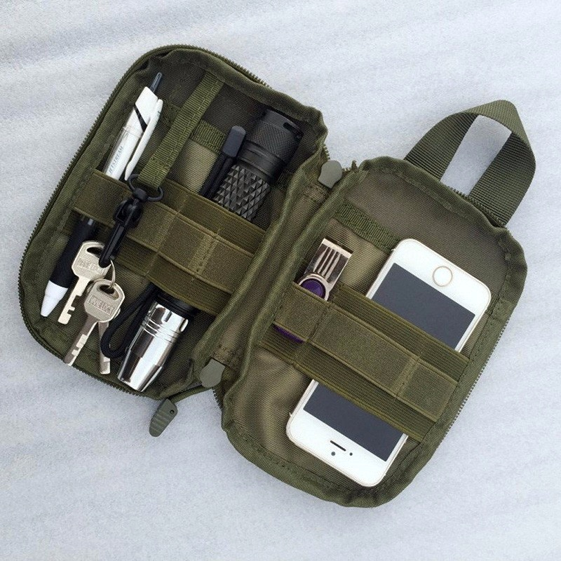 Airsoft First Aid Bag Only Molle Medical EMT Pouch Outdoor Tactical Emergency Utility IFAK Pack Outdoor Travel Hunting