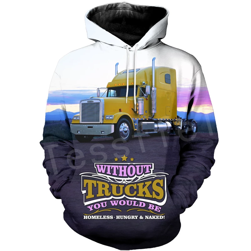 Probably the best Trucker Adult Hoodie Lorry Scania V8 Truck Driver Man Magnum