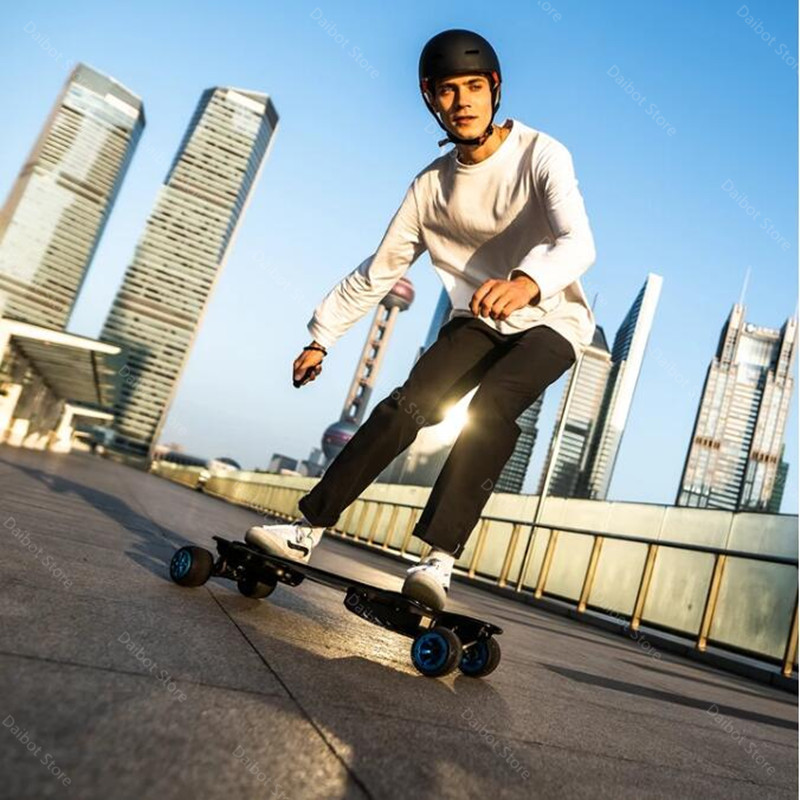 New Electric Scooter Off Road 4 Wheels Electric Scooters Double Drive H20T 36V Four Wheel Electric Skateboard With Rubber Wheels (5)