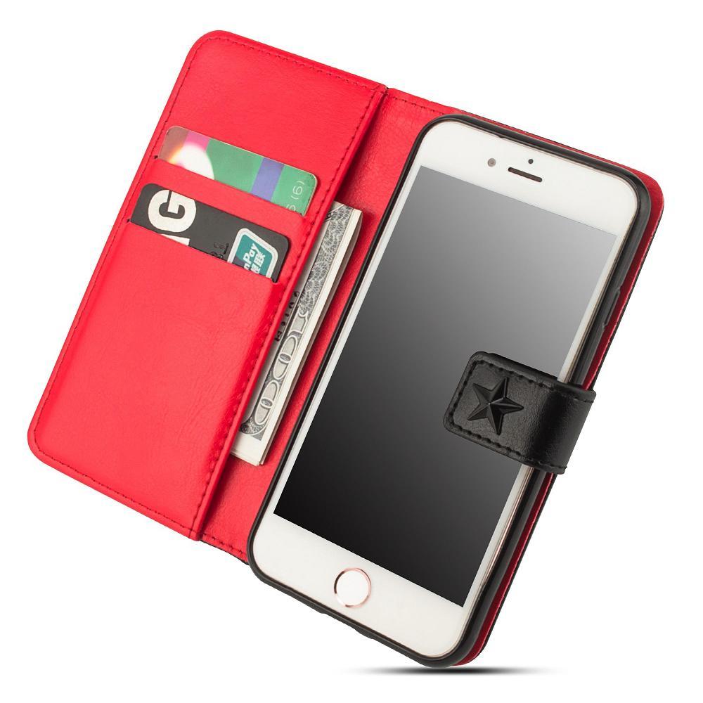Custodia a Libro Flip Book Cover Bianca per Apple iPhone XS Max -