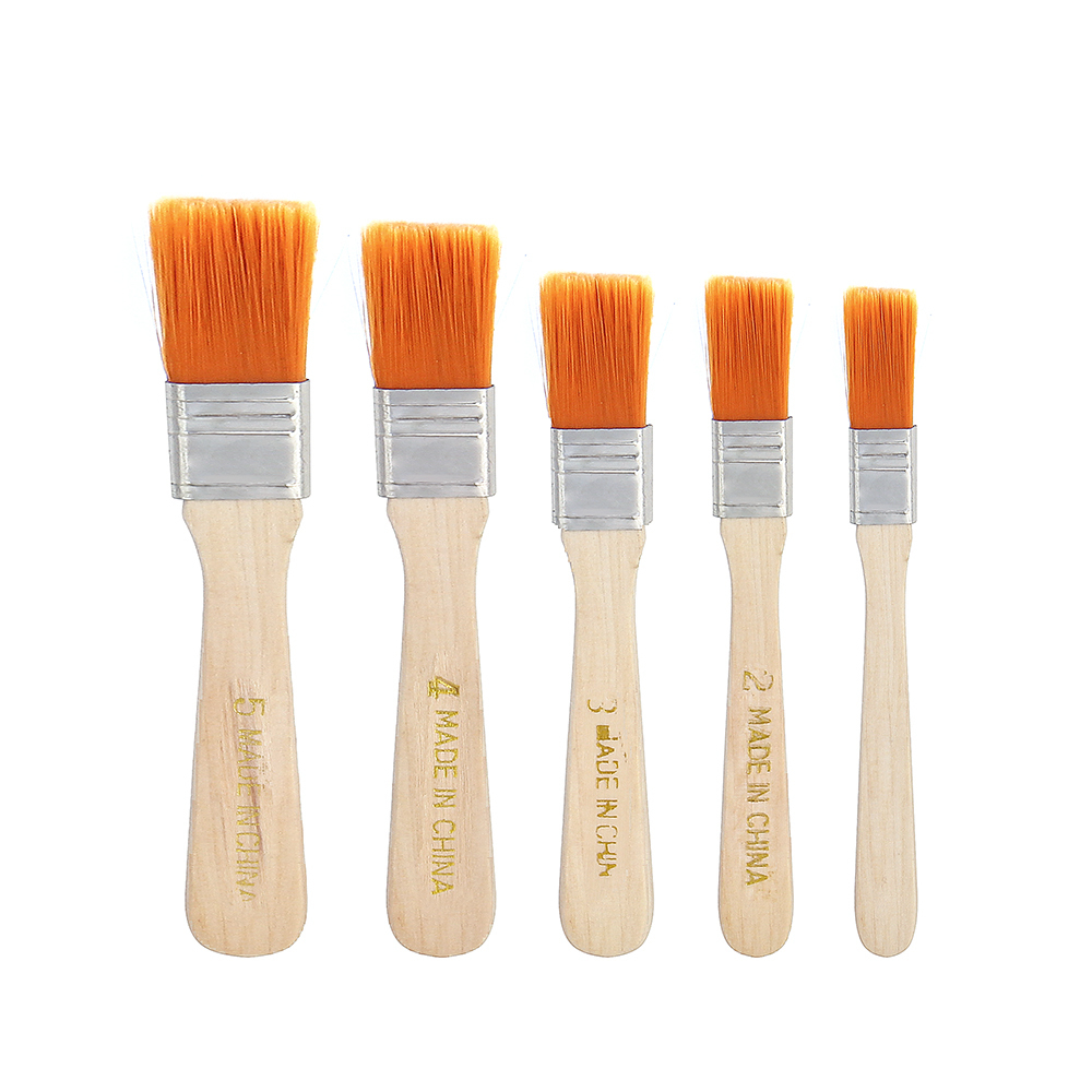 Nylon Hair Painting Brush Oil Watercolor Water Powder Propylene Acrylic Differeent Size Paint Brushes School Art Supply T8190617