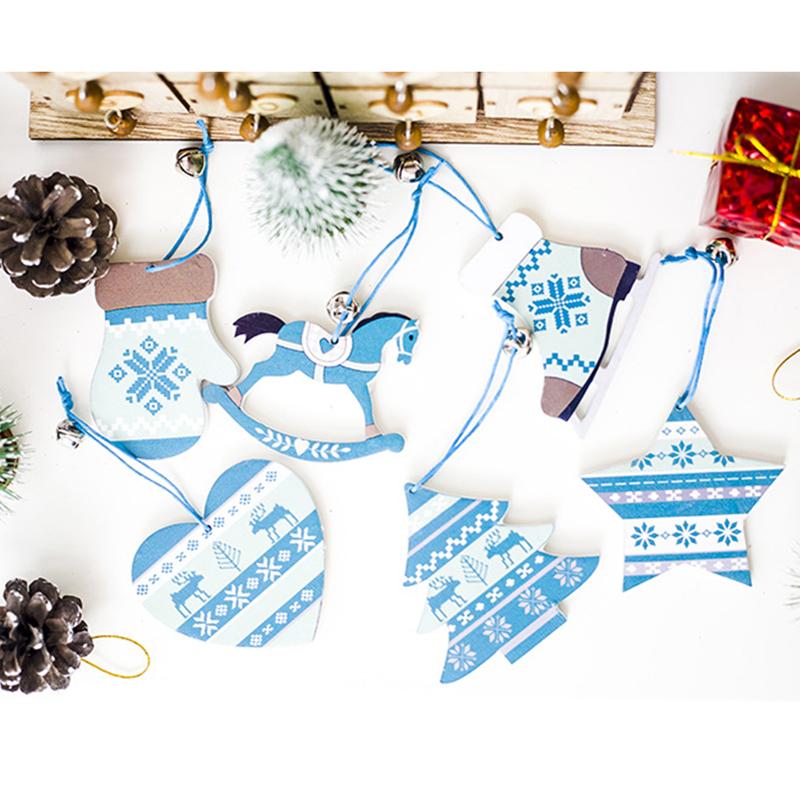 Arcs Noël Decor gouttes cœur Blanc Arbre de Noël Ornements Suspendus Baubles Star