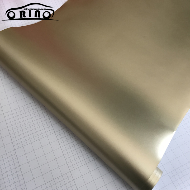 champagne gold metallic vinyl film-2