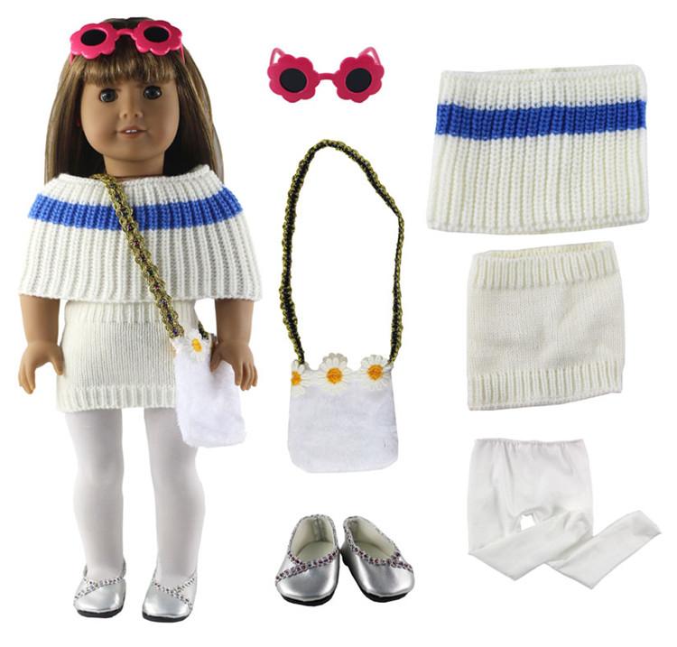 Vendita calda! Tempo libero vestiti fatti a mano abbigliamento sportivo Principessa gonna accessori da 18