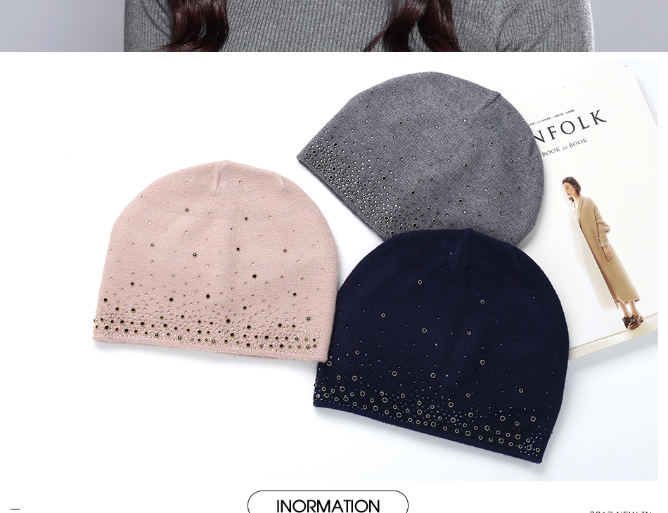 woman winter hats MZ723 (2)