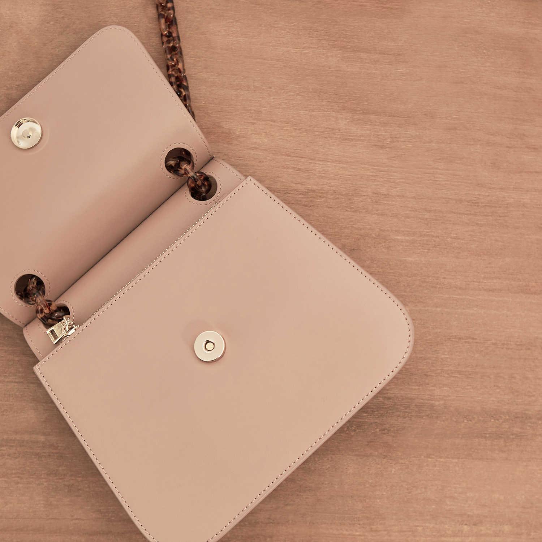 genuine leather Messenger Chain Package Woman New Pattern 2019 Senior Feel Bag Western Style Niche Design handbag shoulder Crossbody Bags