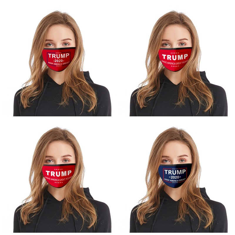 2020 Presidential Election Haze Face Mask Mascherine Make America Great Again Dust Mouth Masks Trump Supporter Respirator Reusable 2 7fd E19