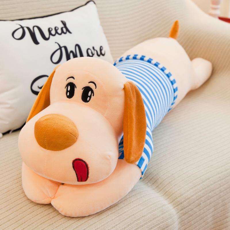 Новый щенок собаки Плюшевые игрушки милый щенок собака Спящая Подушка большая собака рисунок