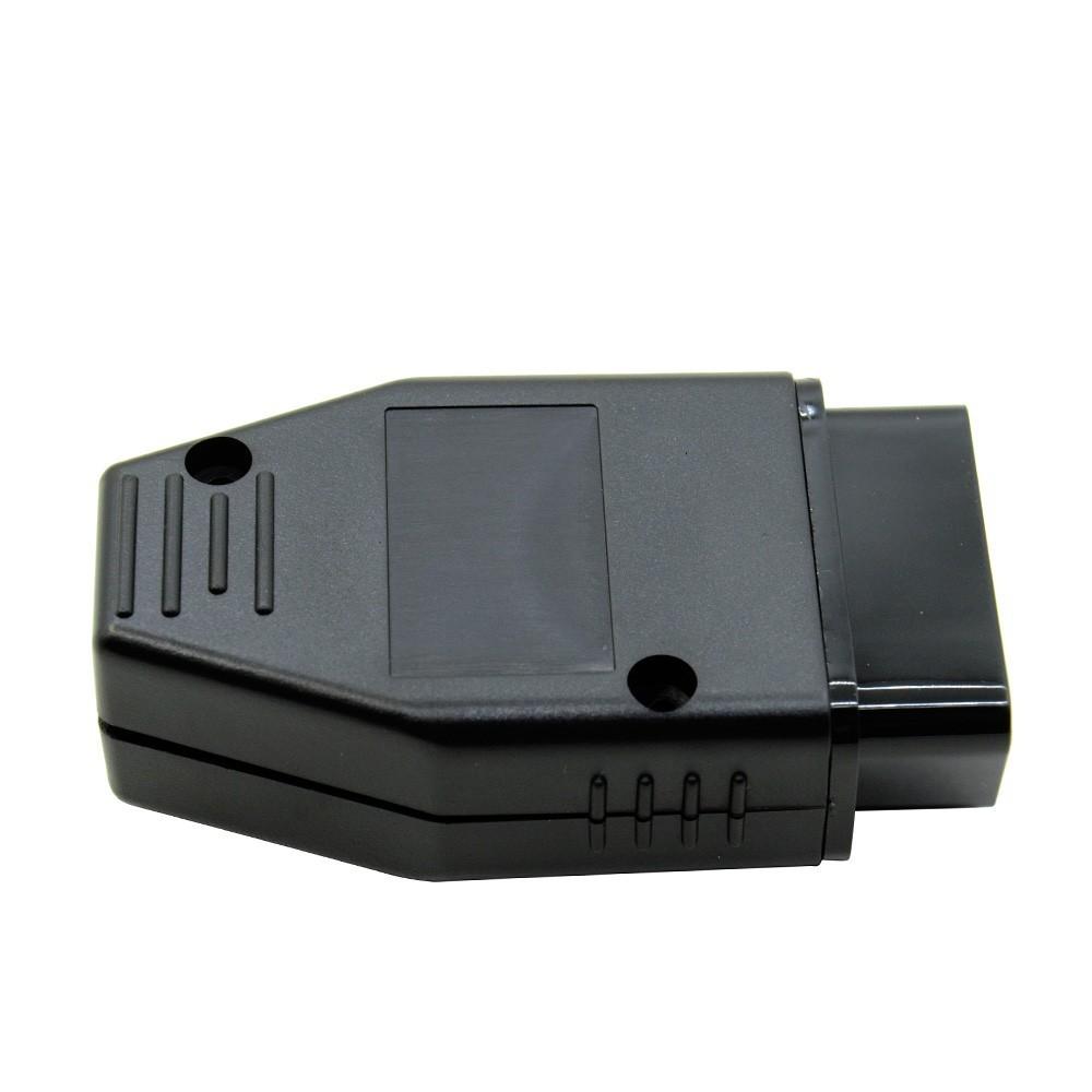 Commercio all'ingrosso 10 pz / lotto J1962 Auto OBD2 16 Pin Connettore Maschio OBD Adattatore Cablaggio Strumento Diagnostico