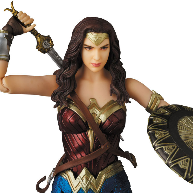 DC Justice League Super Hero MAFEX MAF Batman 056 Flash 058 Wonder Woman 048 Superman 057 Spiderman 047 Action Figure Toy Doll (41)