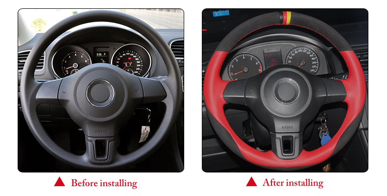 for VW MK5 steering wheel cover