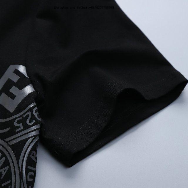 Yaz erkek Giyim Saf Renk T-Shirt Kısa Kollu Erkek Tarzı Ince Pamuklu Dip Giyim 0308