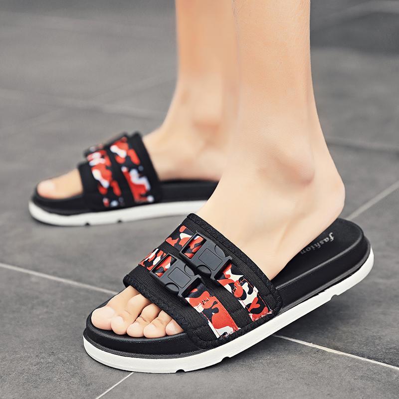 2020New casual slippers men summer Flip Flops Shoes Sandals Non-slip Shoes Men Beach Sandals Slippers for