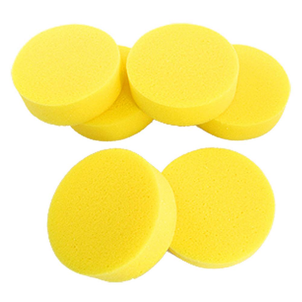 12pcs Waxing Polish Wax Foam Sponge Applicator Pads for Clean Cars Vehicle Glass