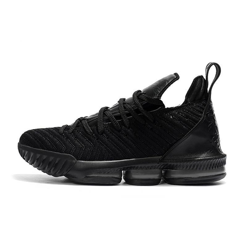 16 s roi chaussures de basket-ball pour les hommes noir blanc en plein air athlétique 16 formateurs designer sport baskets chaussures de course taille 40-46