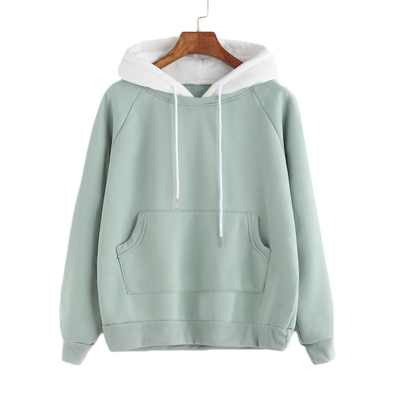 Generic Womens Casual Hoodies Letter Floral Crop Tops Hooded Pullover Sweatshirts