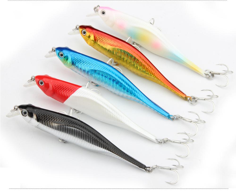 2017 Spinpoler New Fishing Lures,Minnow Crank 11cm 11g.Artificial Japan Hard Bait Wobbler Swimbait Hot Model Crank Bait 5 Colors (1)