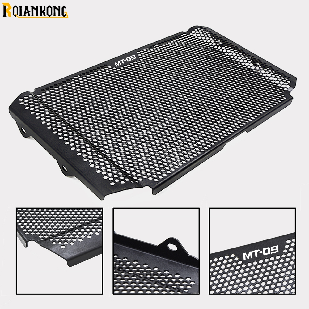 Blue HTTH For MT-09 MT09 Motorbike Radiator Grille Grill Protective Guard Cover Perfect For Yamaha MT-09 MT09 MT 09 Water Tank Cover