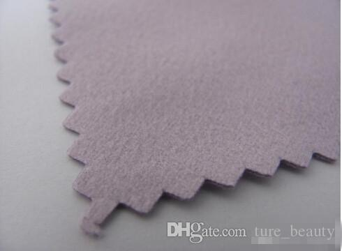 Colors customize big wholesale with pp pack Silver Polishing Cloth for Golden pearl Jewelry partner Cleaner best Quality