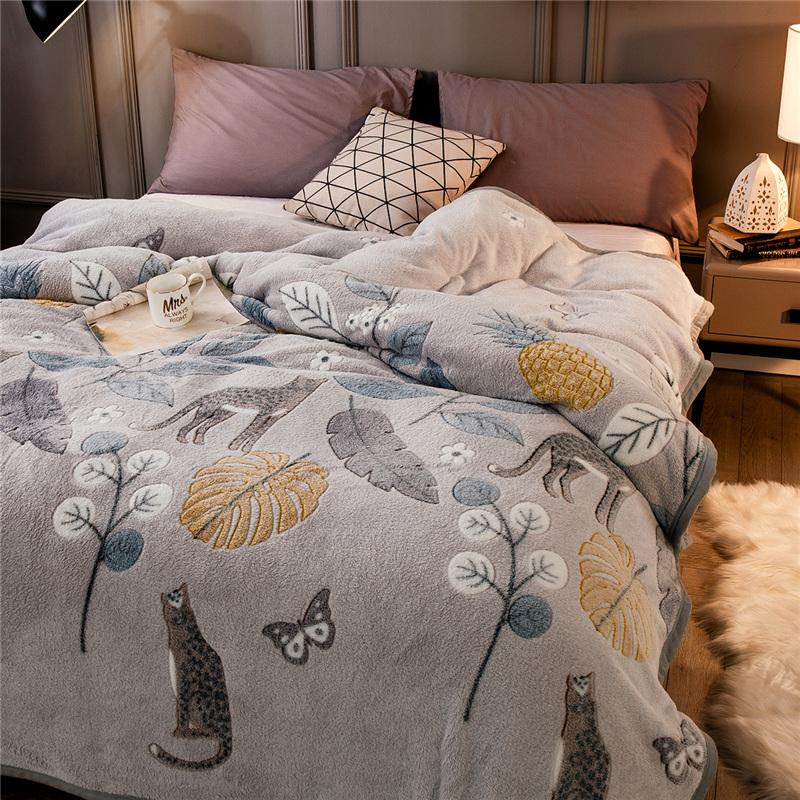 Cool Jurassic Dinosaurs Adult Kids Sherpa Fleece Bedspread Blanket Sofa Throw