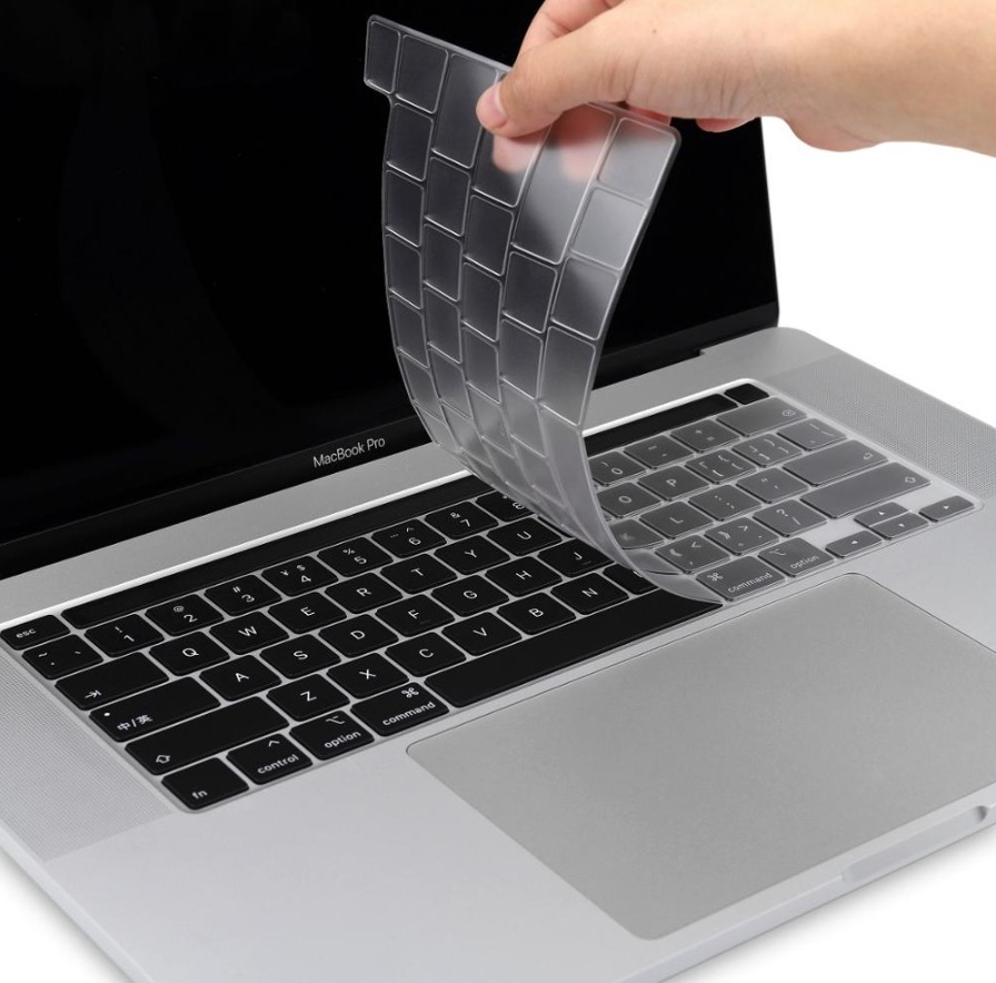 Auto Keyboard Silicone Protective Membrane Film Skin for Macbook Air Pro 13//15//17 Laptop Dark blue