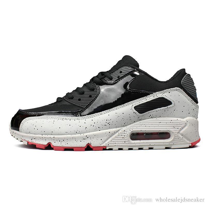 2019 zapatillas de correr para hombres mujeres triple negro blanco rosado azul gris negro infrarrojo de cocodrilo para hombre formador de deporte al aire libre zapatillas de deporte 36-45