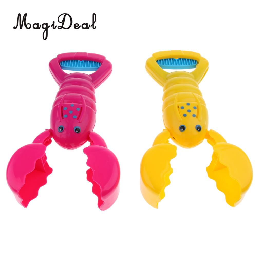 Snowballs Fight Crab Shape Snow Ball Maker Sand Mud Mold Clip Toy Gift