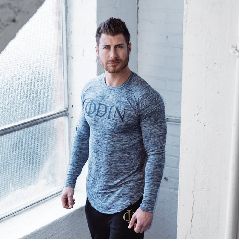 Men Long Sleeve T Shirt Sport gym shirt (5)