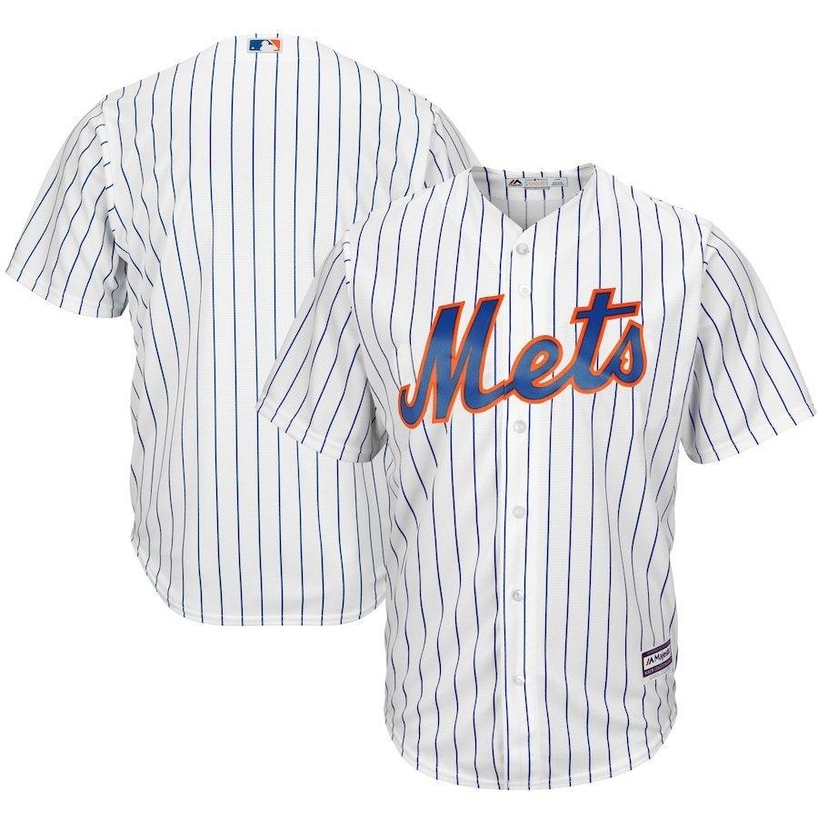 USA Baseball Will Alliance Mets New York Metropolis Team Majestic Sports Shirt Embroidery Baseball Serve