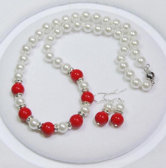 Acrílico perlas bala blanco 100 trozo 8 mm spacer bricolaje joyas v299