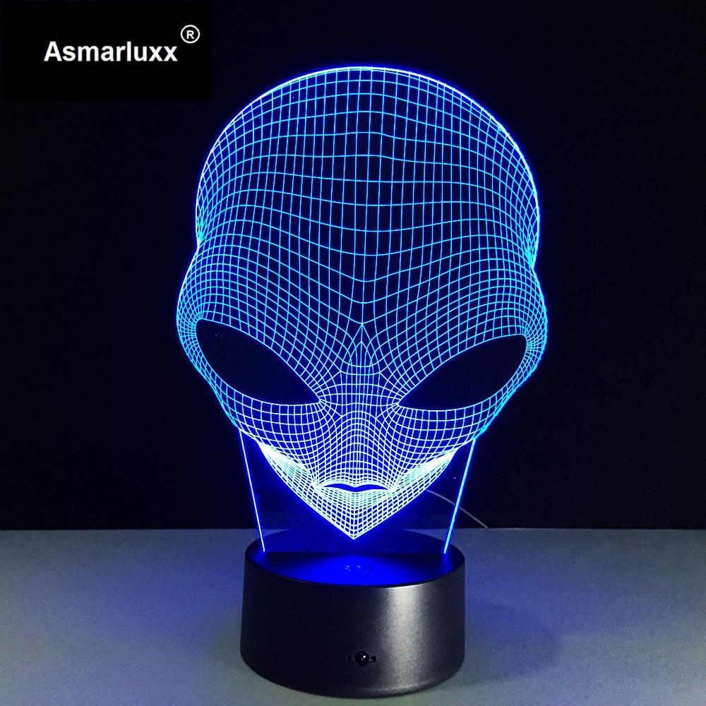 Asmarluxx 3d led lamp9016
