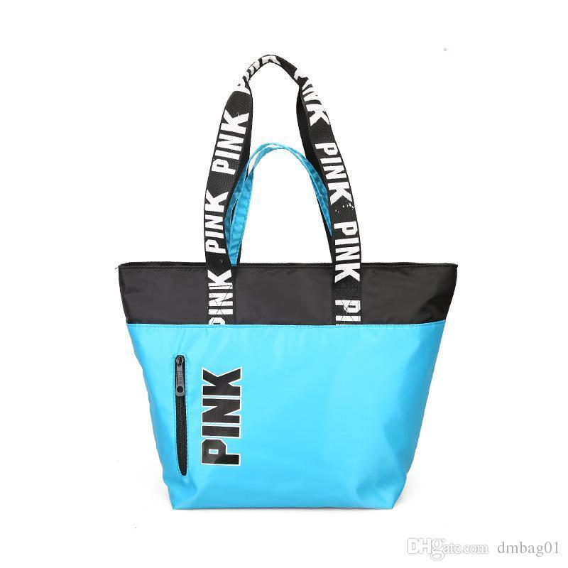 Nice Pop Sell Oxford Casual Lightweight Fashion Travel Designer Handbags Shoulder Bag Tote Bags Shopping Beach Bag