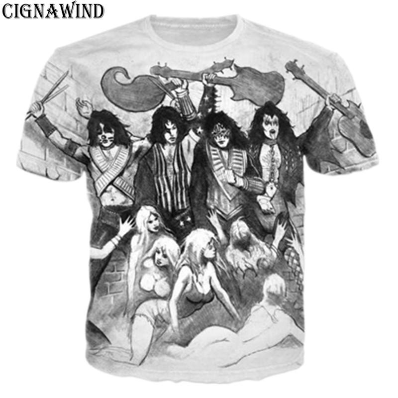 New-Fashion-Kiss-rock-band-design-printed-3D-t-shirt-Men-women-hip-hop-t-shirt (2)