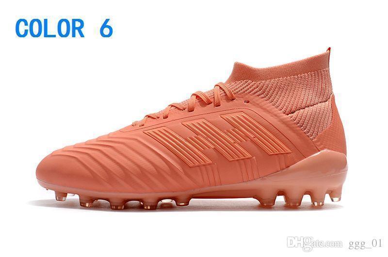 Frete Grátis Novo Superfly Predator 19.1 AG Chuteiras De Futebol Dos Homens Cristiano Ronaldo Neymar Sapatos de Futebol Copa Do Mundo de Futebol Botas Scarpe Calcio