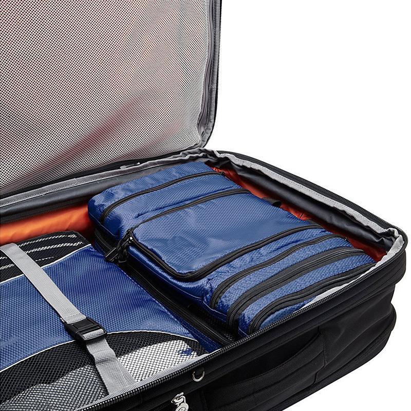 Women Lady Makeup Cosmetic Case Toiletry Bag Zebra Travel Handbag Organizer New