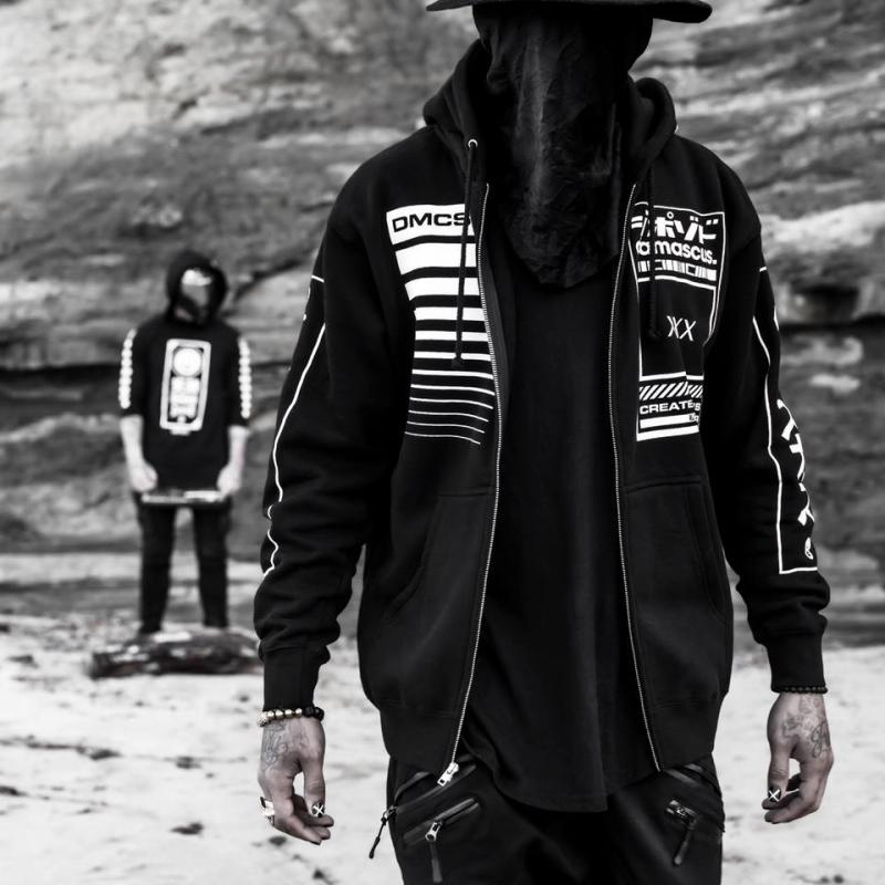Men Hoodie Sweatshirt Tracksuit Jacket (14)