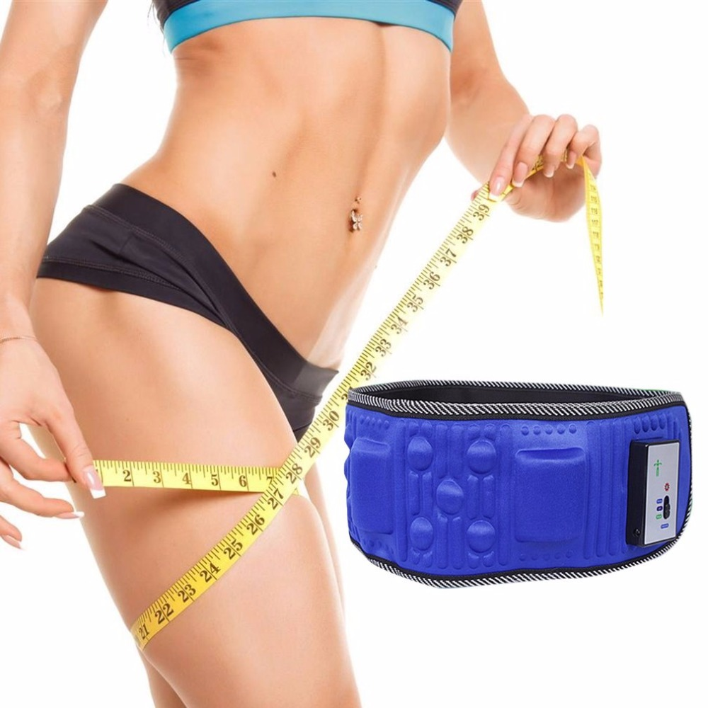 Wireless Electric Fitness Vibrating Slimming Belt Shaking Machine Slimming Device Vibration Fat Burning Artifact