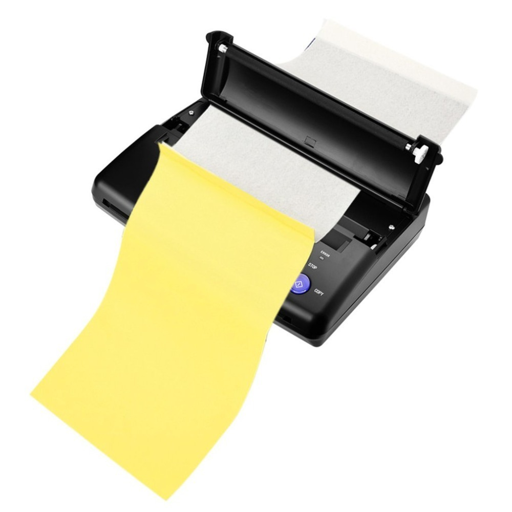Professional Tattoo Transfer Copier Thermal Stencil Paper A5 & A4 Printer Machine Normal Tattoo Paper And Photo Tattoo Supplies