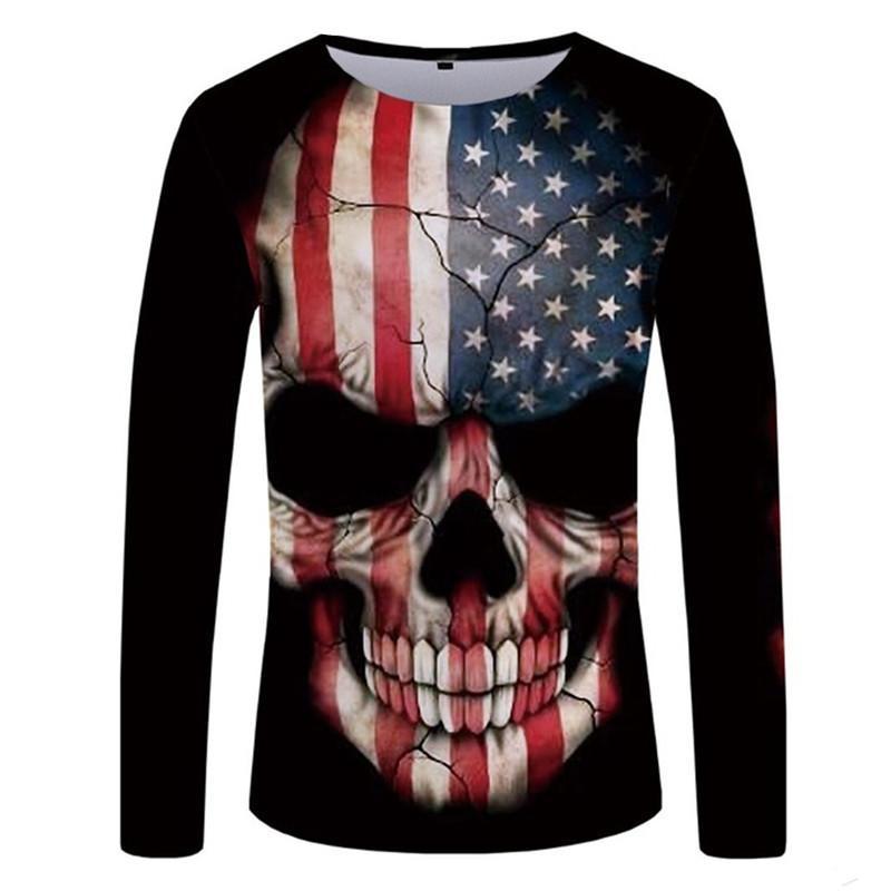 Transser Unisex 3D Novelty Tshirts Men Graphic Creative Tees Printed Crewneck Short Sleeve Summer Top T-Shirts