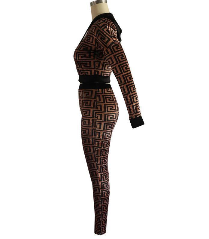 19ss Justin Bieber Frauen Hoodie Kleidung Thread Sexy Selbstkultivierung Sportswear Nachtclub Kleidung Zweiteiler Markendesigner