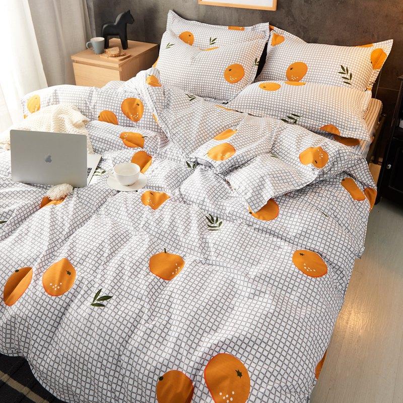 cama designer de edredons conjuntos / set Red completa impressão de alta qualidade cama Set Linings Bed Duvet Cover Folha de cama Fronhas Cover Set